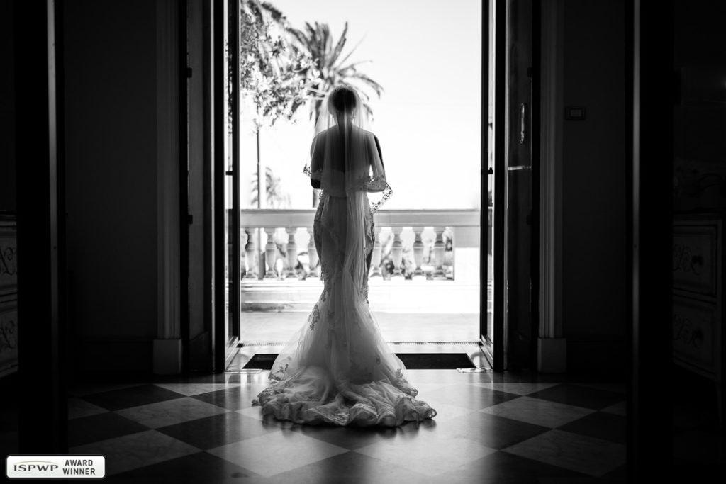 "Sanremo, Hotel De Paris - Premio ISPWP Award - Categoria: ""The Wedding Dress"""