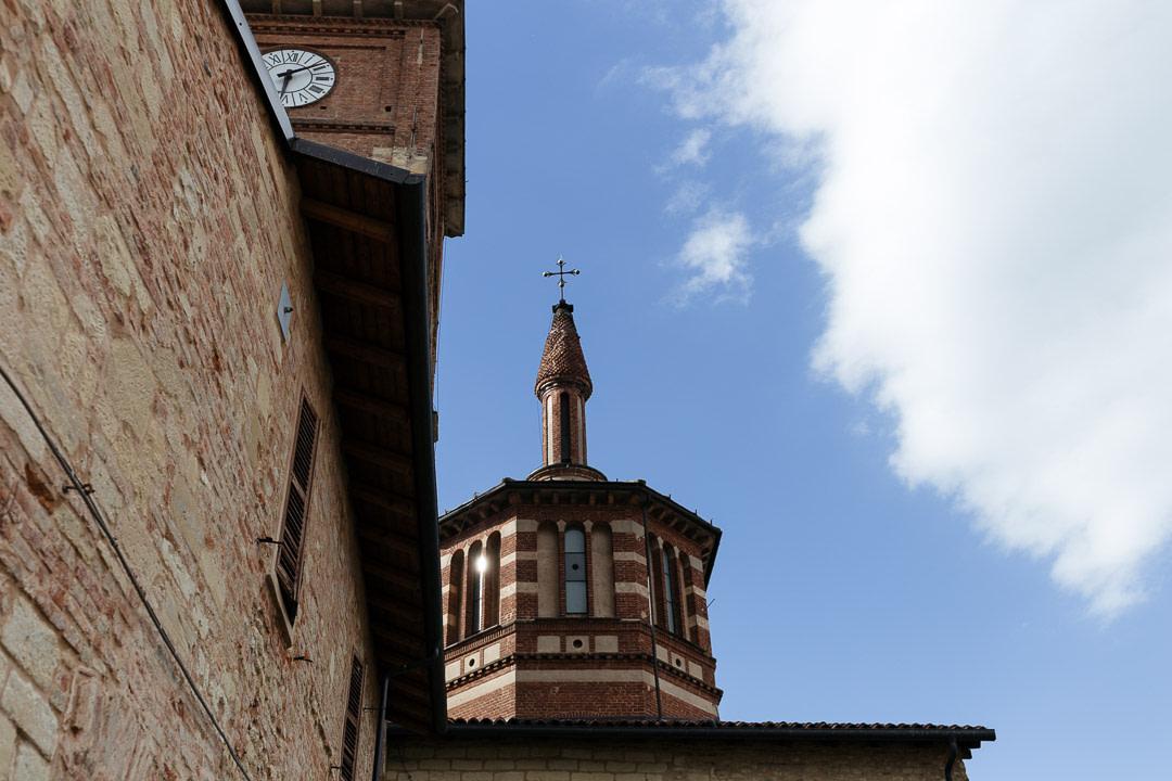 Abbazia Benedettina in Grazzano-Badoglio Luca Vieri fotografo