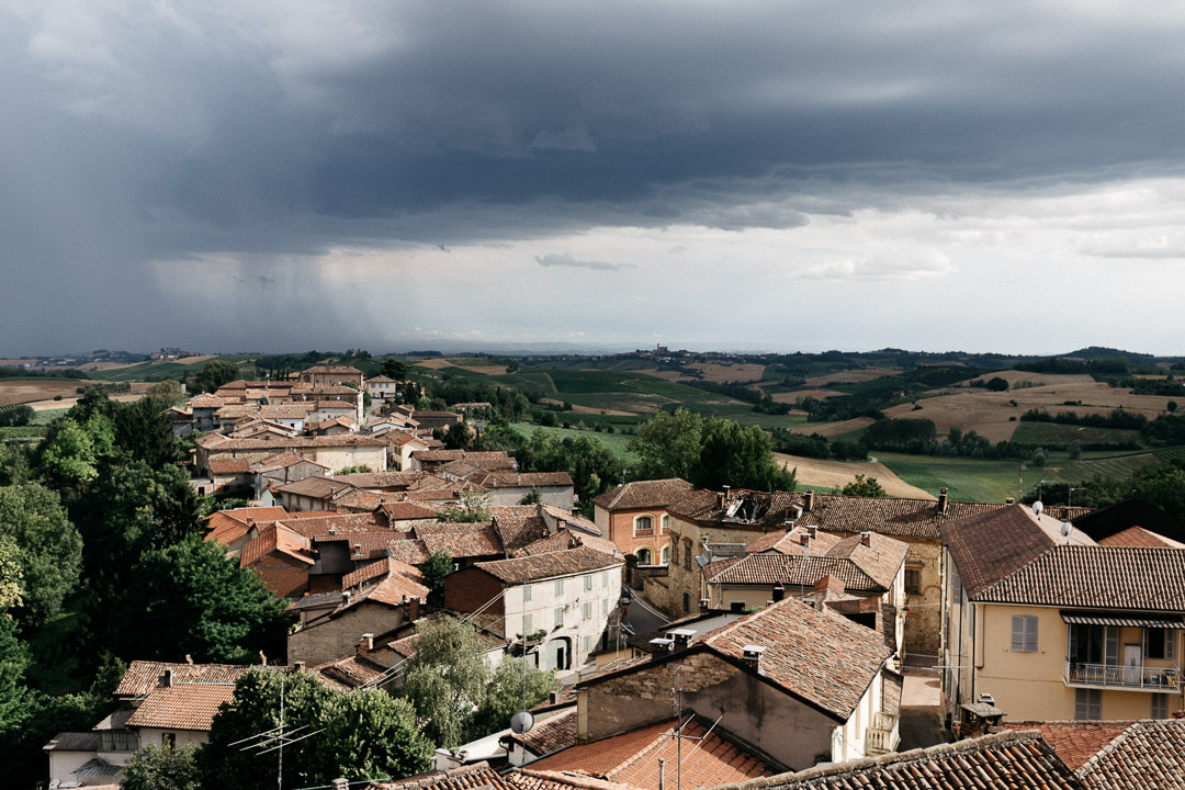 Temporale Matrimonio Monferrato Luca Vieri fotografo