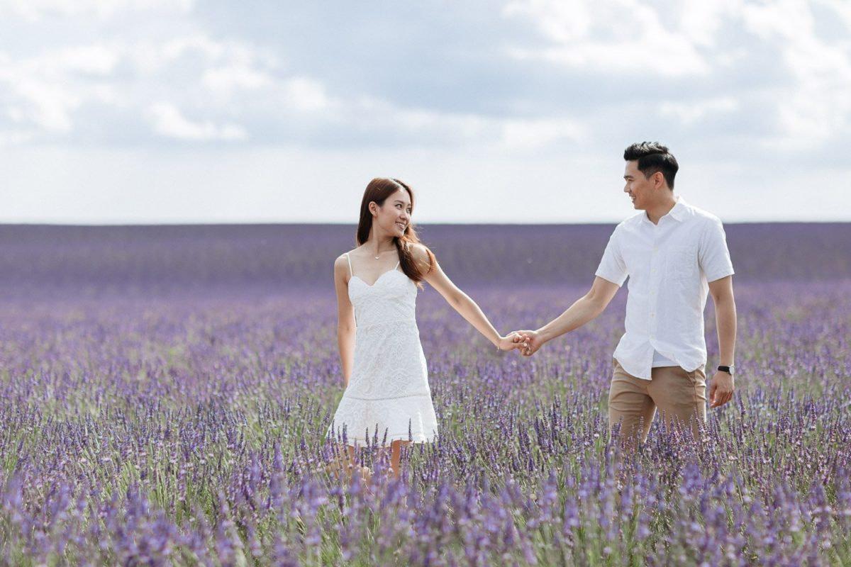 Valensole Lavender Fileds Engagement