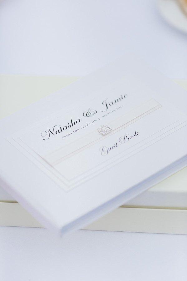 luxury Guest Book Wedding