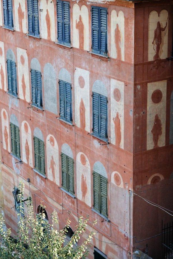 Ancient Ligurian building