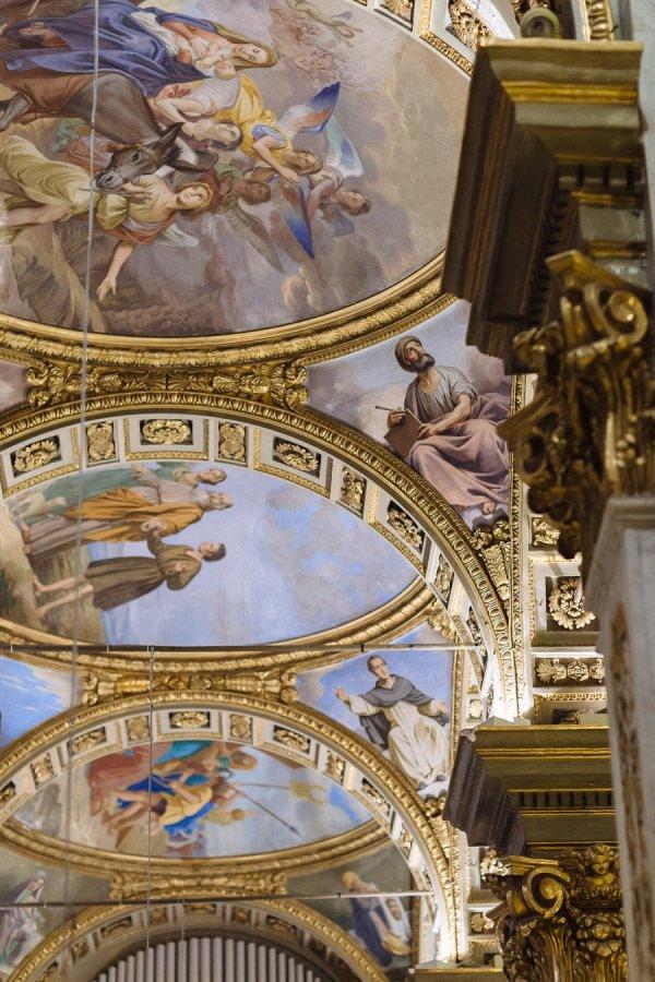 Santa Margherita Ligure Main Church Interior detail