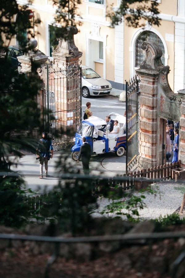 Villa Durazzo Gate Wedding Day