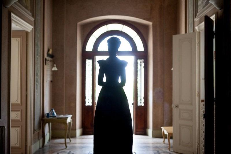 Statua della Regina Margherita Bordighera, Villa Etelinda. Luca Vieri fotografo
