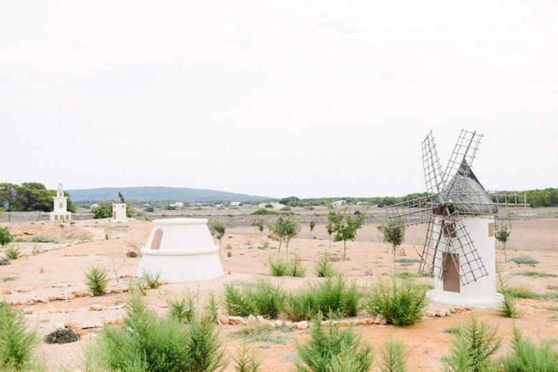Formentera Wind Mill