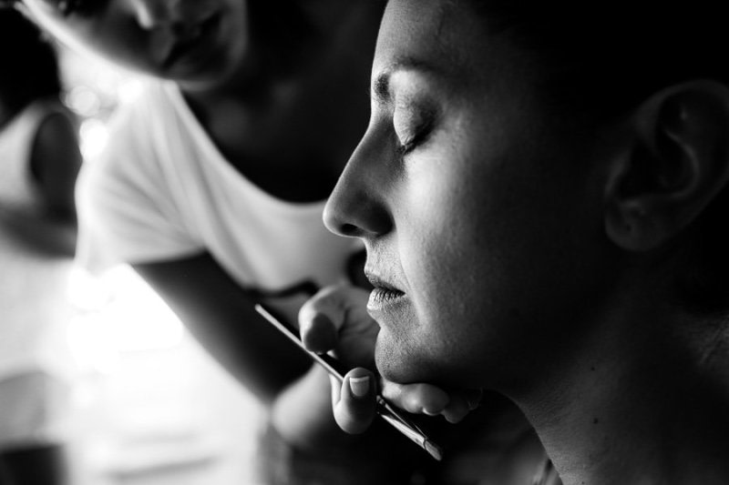 Bridal makeup Formentera