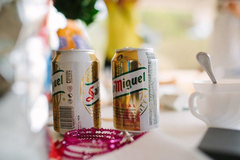 San-Miguel beer Formentera Wedding