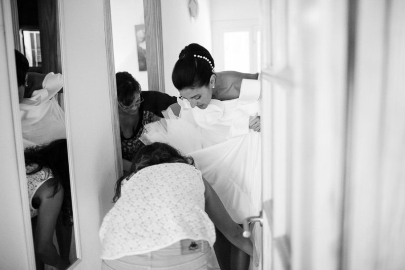 Bride Getting ready Formentera