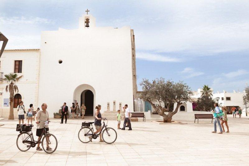 Formentera Church Xavier
