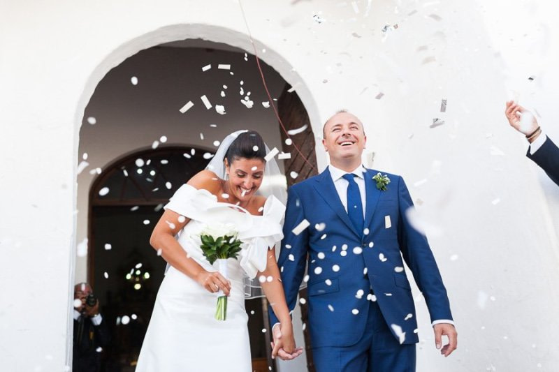 Just Married in Formentera