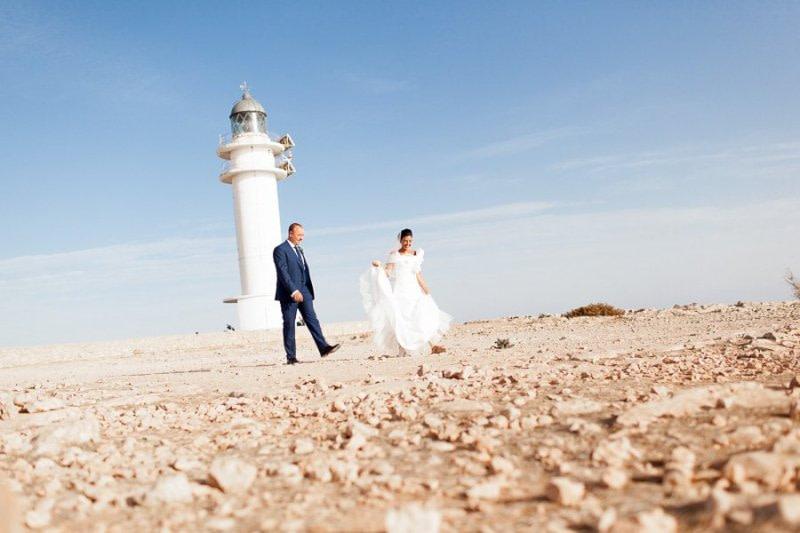 Lighthouse Formentera Wedding