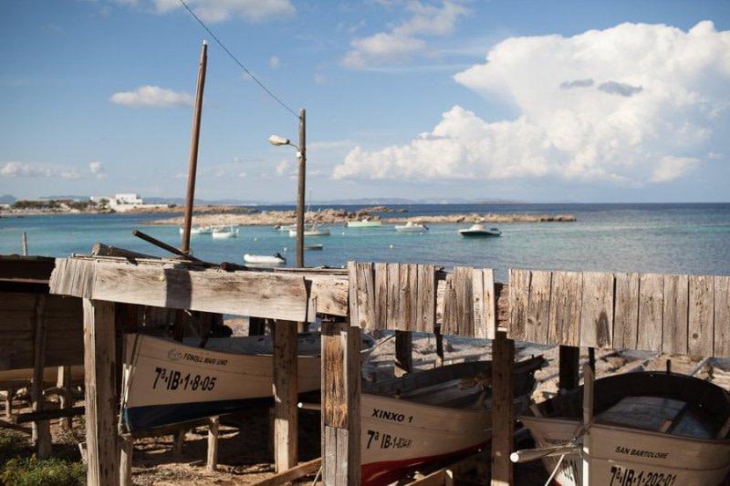 Es Pujols Fisherman Boats