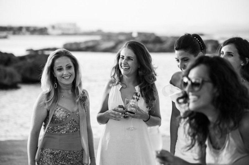 Wedding guests Formentera