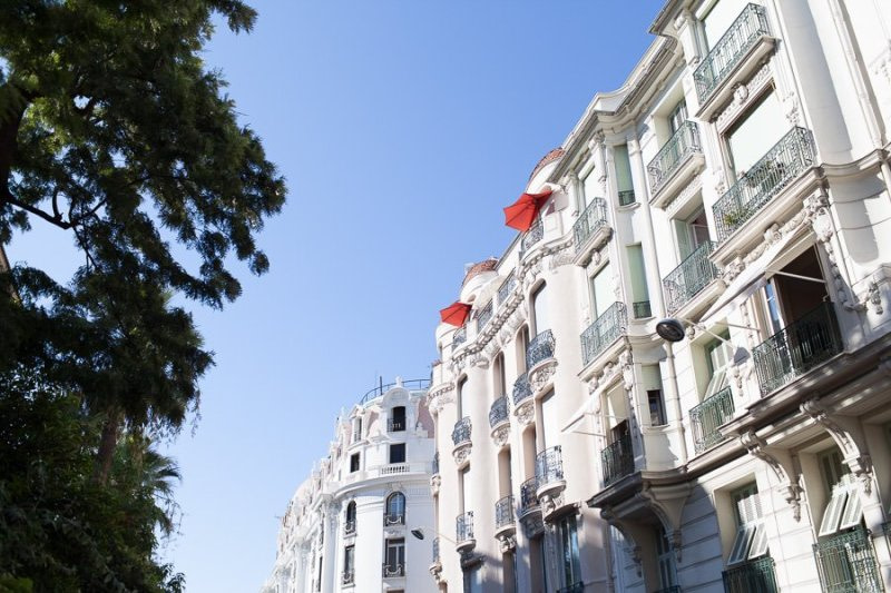 Buidings in Nice French Riviera