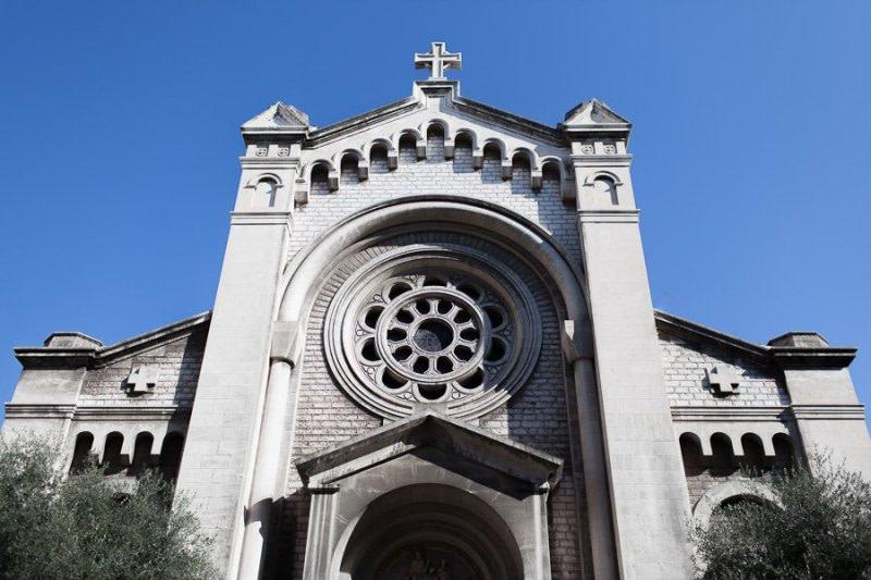 Church St. Pierre d'Arene in Nice