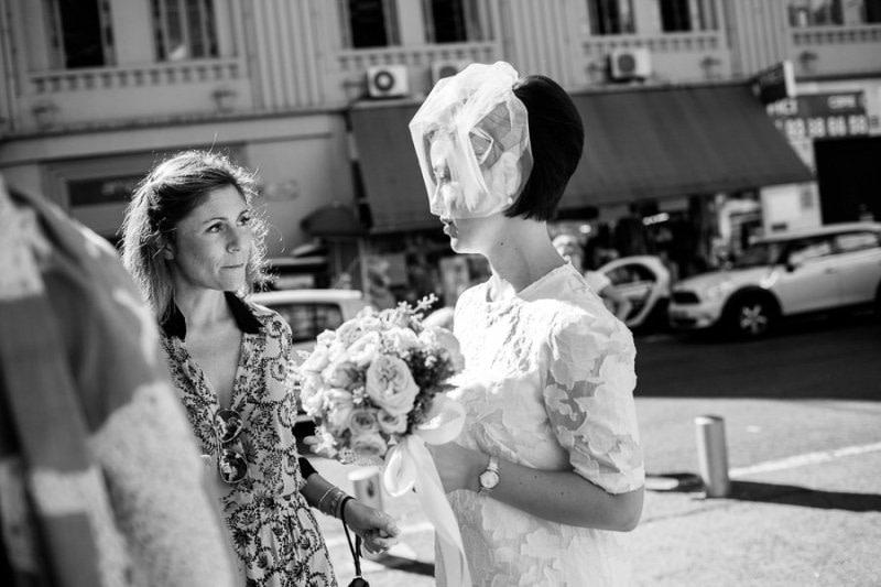 Bride in Nice France