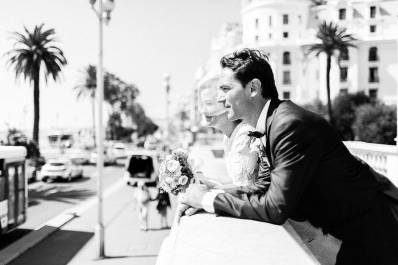 Luca Vieri Wedding in Nice Promenade des Anglais South of France
