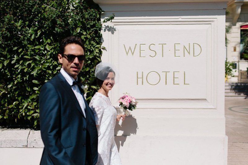 Hotel West-End Promenade Des Anglais Nice Wedding Photographer Luca Vieri