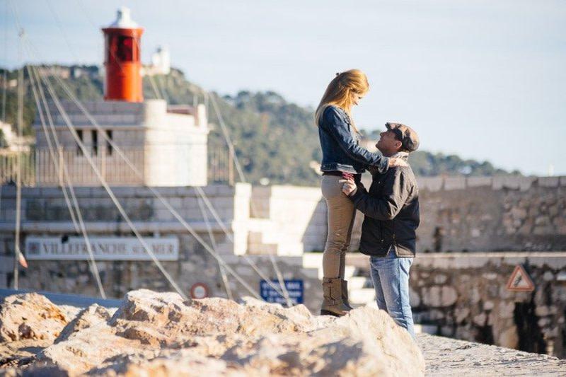 Villefranche-Sur-Mer Engagement Photographer