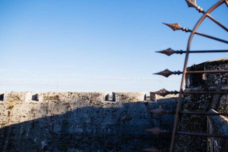 Villefranche-Sur-Mer ancient walls
