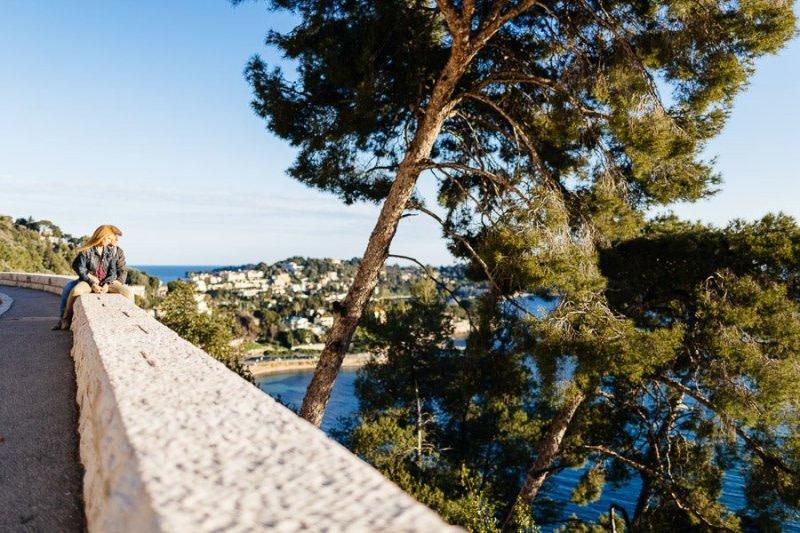 Villefranche-Sur-Mer Engagement photography