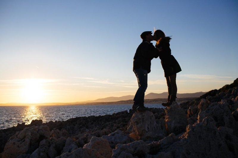Cap-Ferrat Engagement Photography