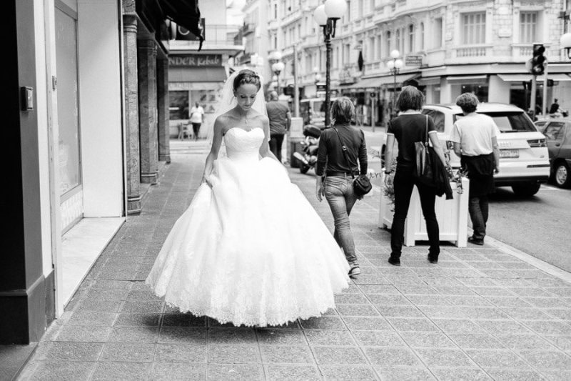 Bride in Nice