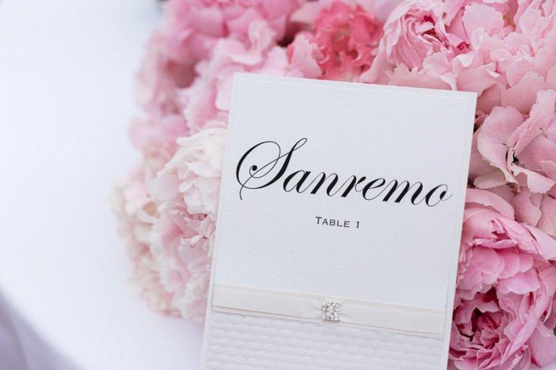 Sanremo Wedding Table