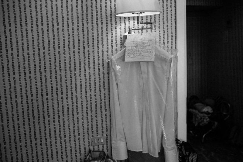 Getting ready Hotel Royal Sanremo