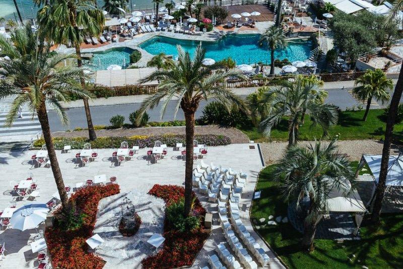 Matrimonio in Giardino Royal Hotel Sanremo