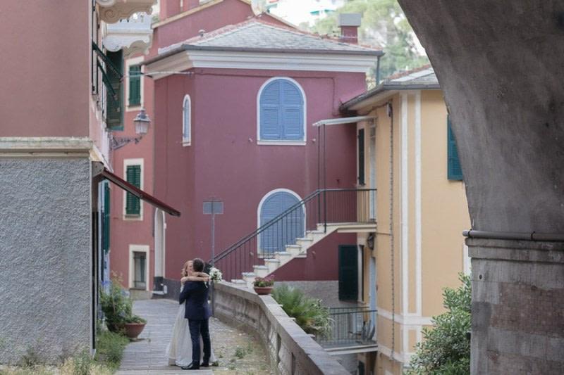 Zoagli house