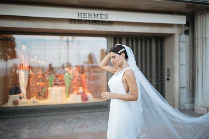 Hermes boutique Montecarlo Bride