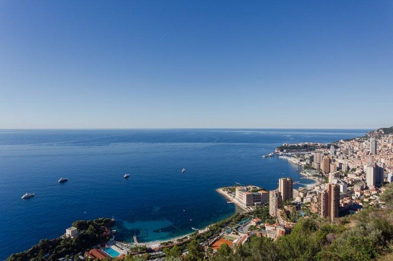Monaco bay view