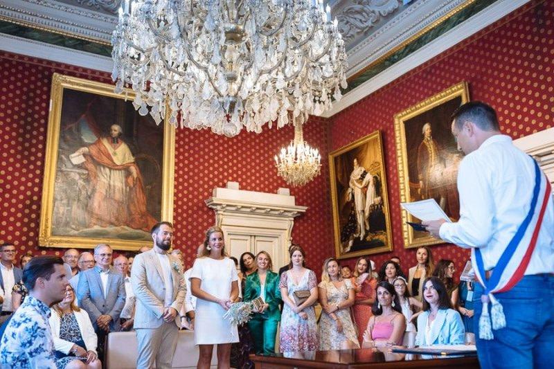 Ajaccio Town Hall Wedding Luca Vieri Photographer