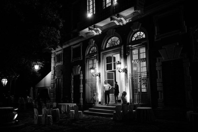 Villa Durazzo Wedding night