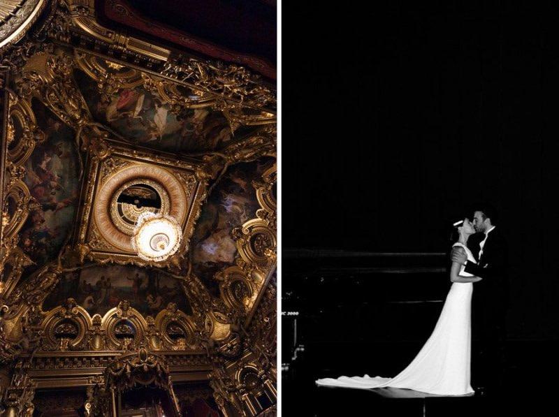 Theatre Opera Monte-Carlo Bride and Groom