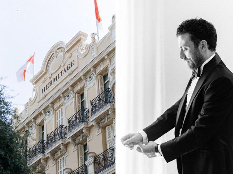 Hotel Hermitage Monaco Wedding Day