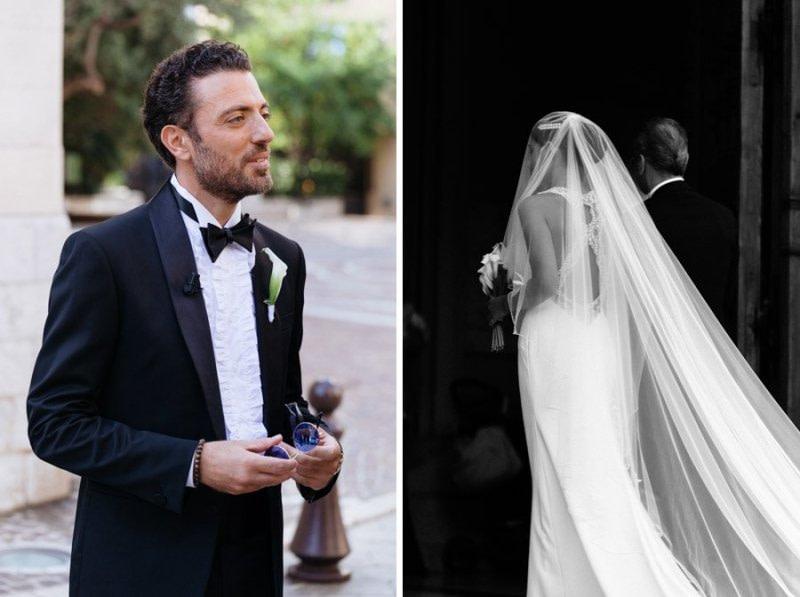 Bride Monaco Wedding Day