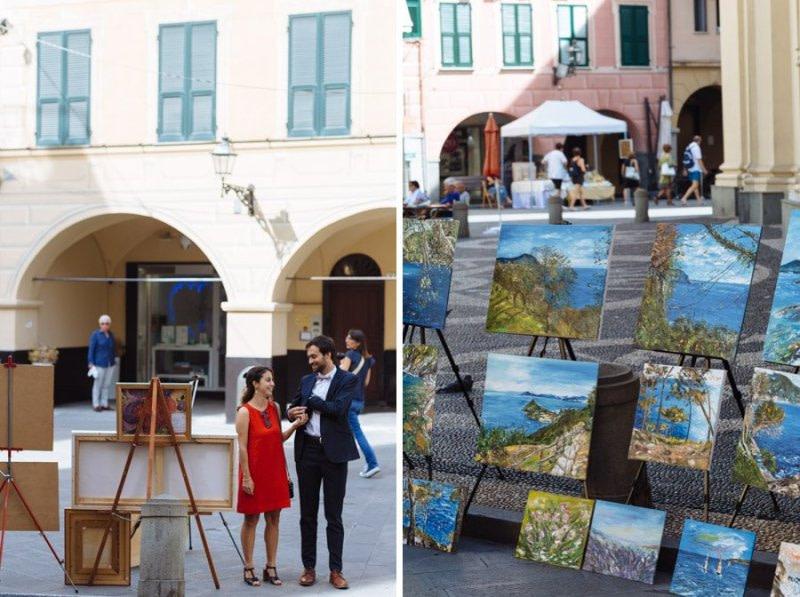 Painting in Santa Margherita Ligure