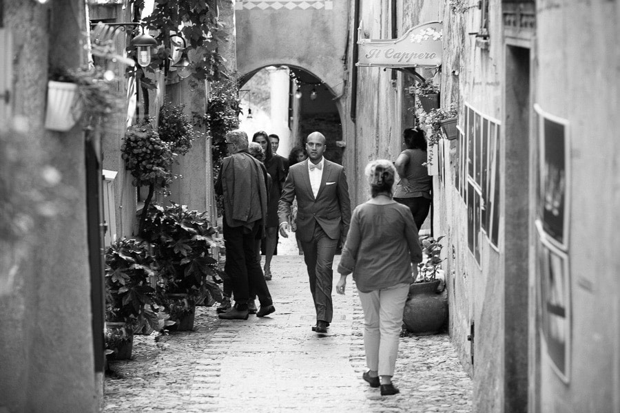 Sposo Matrimonio a Verezzi Liguria