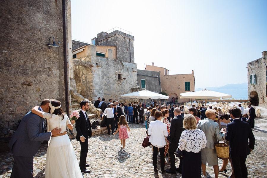 Matrimonio Piazza di Verezzi Liguria