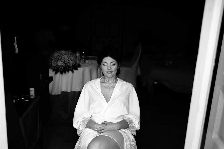 Bride to be in Matera