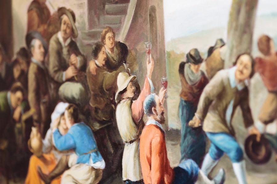 Painting Matera Basilicata
