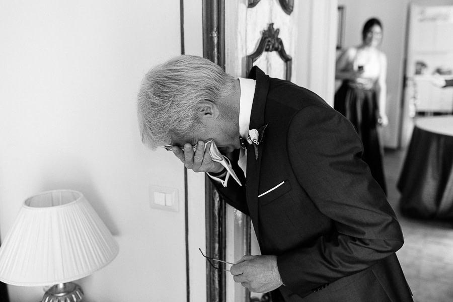 Commozione Padre della Sposa Matera