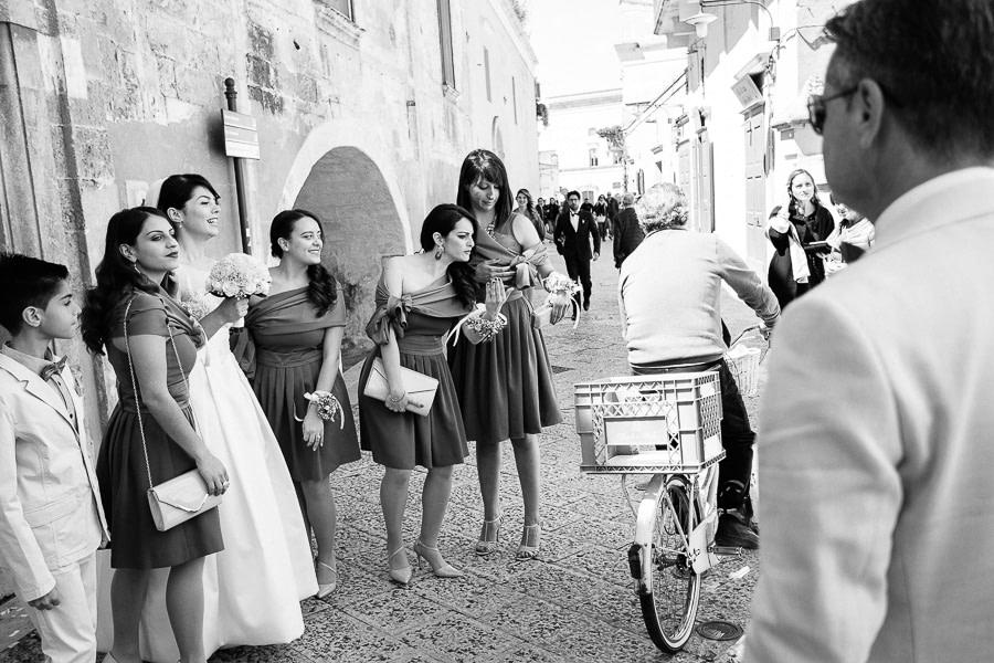 Bicicletta Matera Giorno del Matrimonio