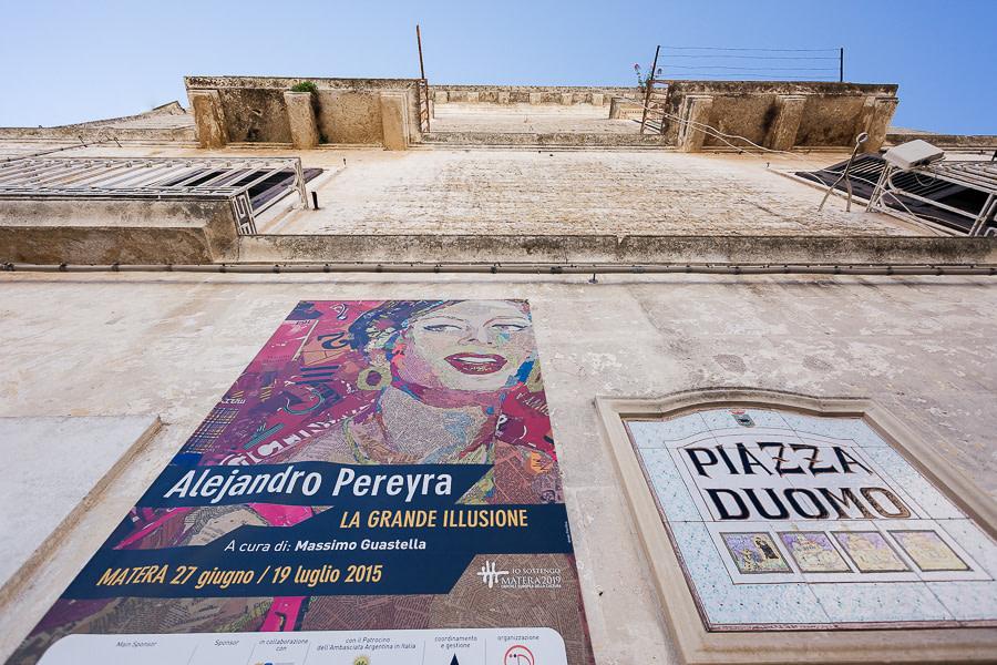 Piazza Duomo Matera Luca Vieri fotografo Matrimonio